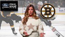 Ford Final Five Facts: The Bruins Third-Straight Loss