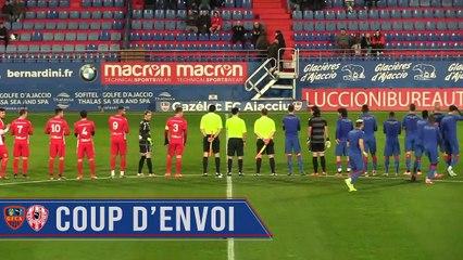 Le résumé vidéo du match amical face au FC Bastelicaccia (3-0)