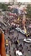 Irak - Tensions lors des obsèques de leur chef Al-Mohandes