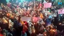 Watch: Muslim women from UP's  Sambhal curse US over  killing of  Qassem Soleimani