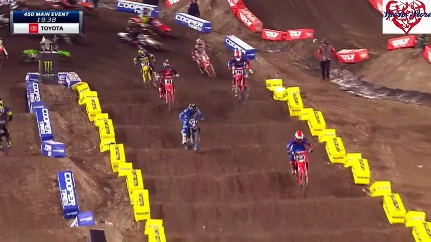2020 AMA SuperCross  Anaheim 1  450 SX Main Event HD