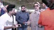 Deepika celebrating Birthday with a fan at the Airport | Viral Masti