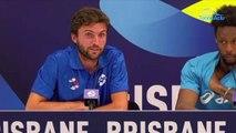 """ATP Cup 2020 - Gilles Simon sur les incendies en Australie : """"On n'a pas à se sentir coupable que malheureusement ça flambe comme ça !"""""""