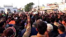 Shia Muslims in northern India protest against US killing of Soleimani