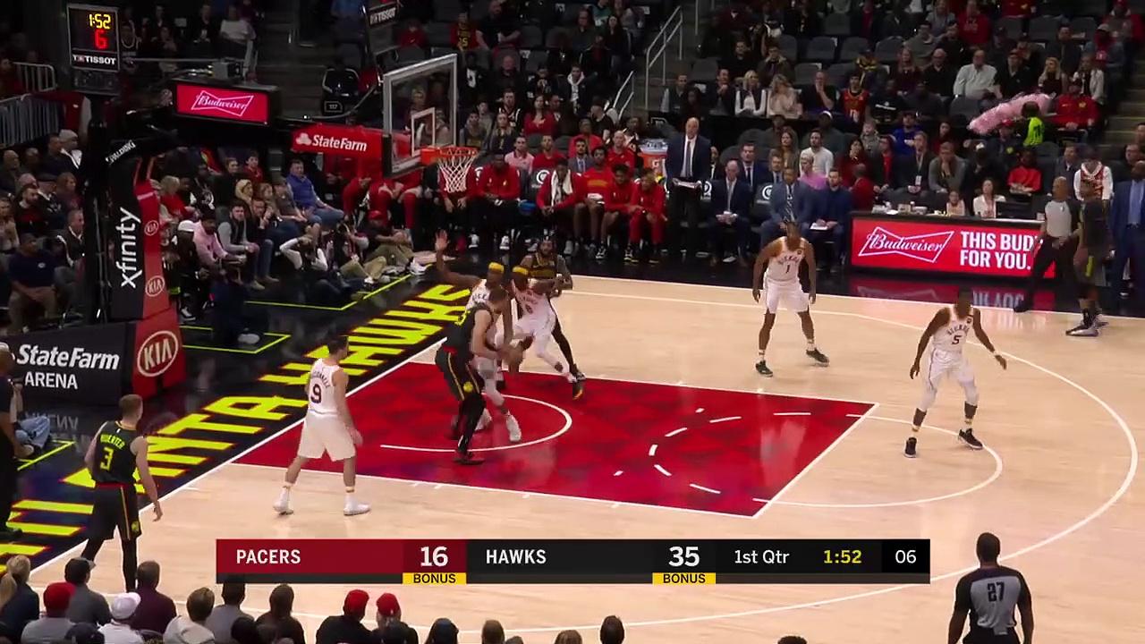 Indiana Pacers 111 - 116 Atlanta Hawks