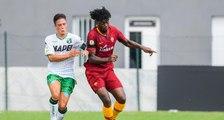 Le joli but de William Bianda avec les U19 de l'AS Roma