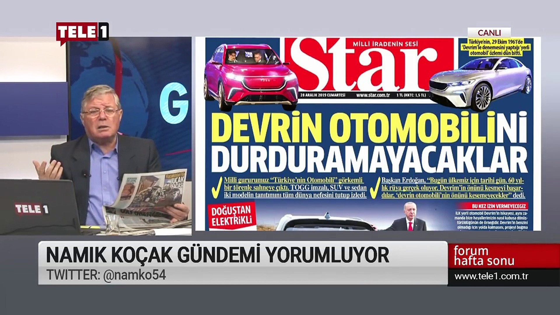 Yerli otomobilimiz Türkçe bilmiyor - Forum Hafta Sonu (28 Aralık 2019)