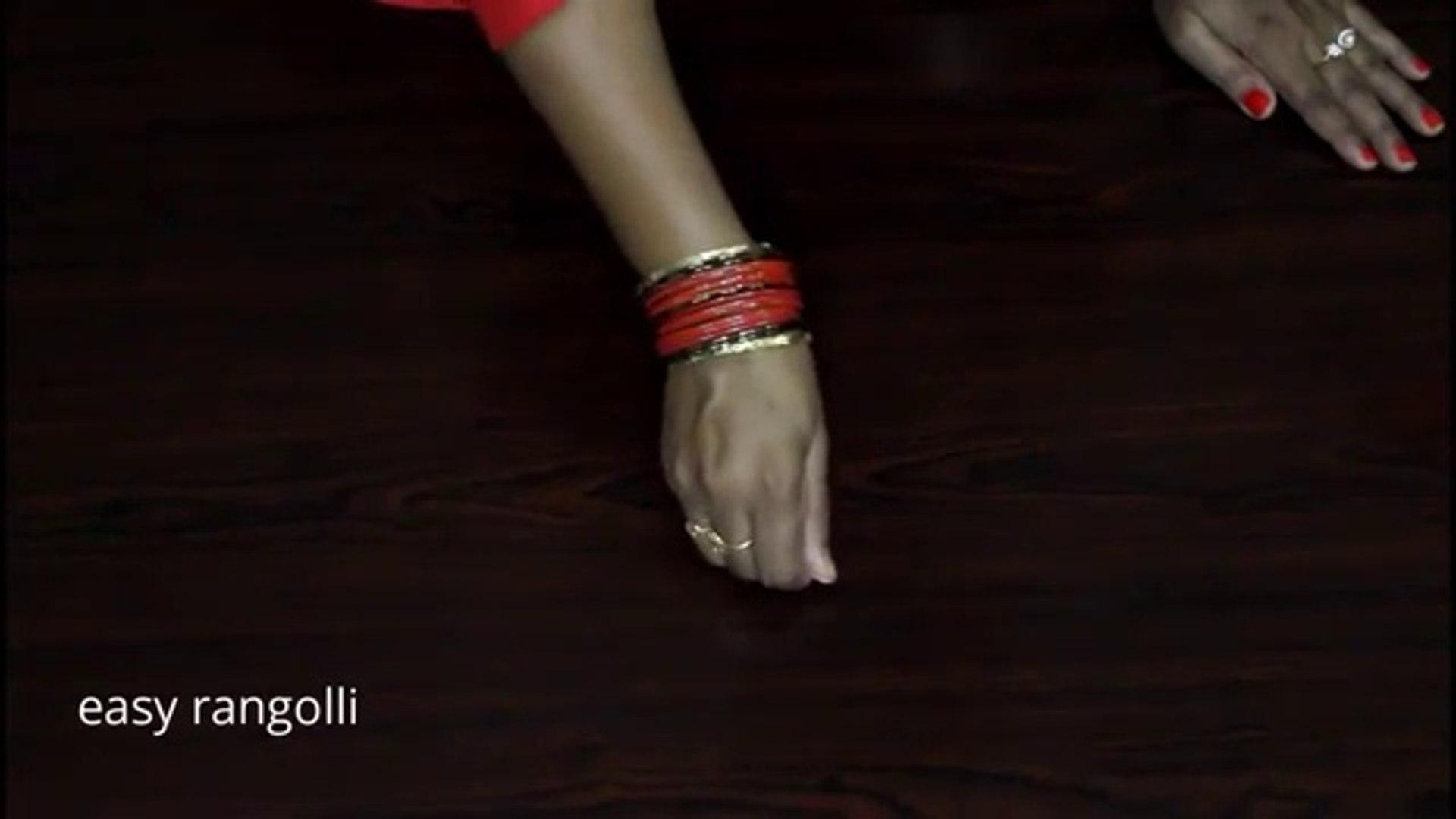 Amazing freehand muggulu designs    daily routine rangoli    easy & simple kolam    indian arts