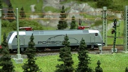 Le paradis pour des trains électriques - Réseau miniature HO construit par l'artiste Bernhard Stein - Une vidéo de Pilentum Télévision - Modélisme ferroviaire, trains miniatures, maquettisme et chemin de fer