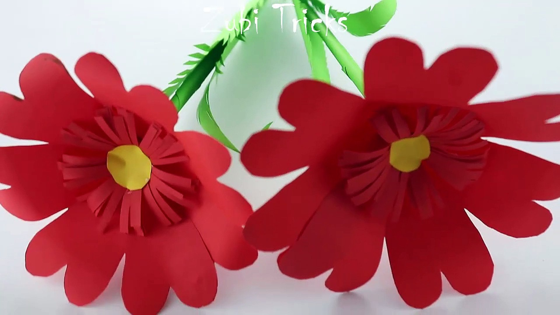 How to make 3d origami flower model1 - video dailymotion   1080x1920