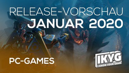 Games-Release-Vorschau - Januar 2020 - PC