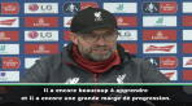 Liverpool - Klopp encense sa pépite Curtis Jones