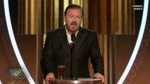 """Ricky Gervais : """"C'est la dernière fois que je présente cette cérémonie"""" - Golden Globes 2020"""