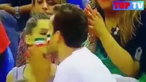 Los besos más apasionados, calientes y locos del deporte mundial