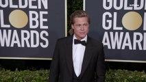 Brad Pitt Golden Globes 2020 Arrival