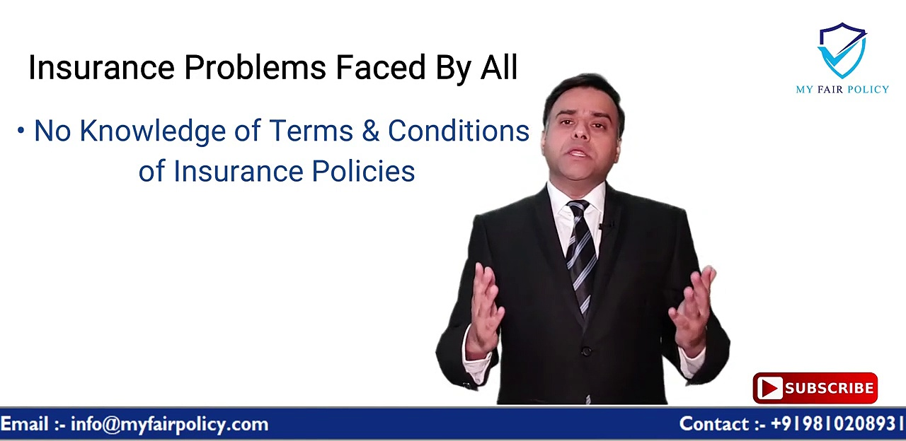 Problems Faced at the Time of Taking Insurance & Insurance Claim _ MyFairPolicy