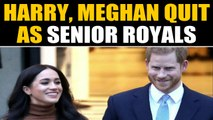 British Royal family in shock as Prince Harry and Meghan quit without consulting the Queen |OneIndia