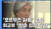 """강경화 """"파병, 한미 입장 같을 수 없어...다음 주 논의"""" / YTN"""