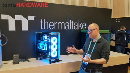 CES2020: Thermaltake Distrocase 350p