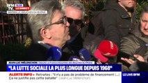 """Jean-Luc Mélenchon sur la réforme des retraites: """"Emmanuel Macron veut passer en force"""""""