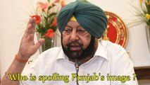 Who is spoiling Punjab's image ?