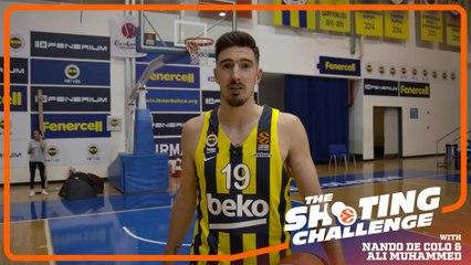 Shooting Challenge: Nando De Colo & Ali Muhammed, Fenerbahce Beko Istanbul