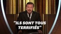 Aux Golden Globes, Ricky Gervais se paye Harvey Weinstein