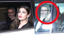 Raveena Tandon's funny moments with husband as she attend Ritesh Sidhwani New Year Party