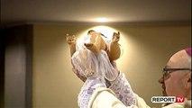 Report TV - Besimtarët e krishterë festojnë Krishtlindjen! Frendo: Mëkat pasurimi nga tërmeti
