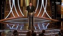 Discours de Ricky Gervais aux Golden Globes 2020