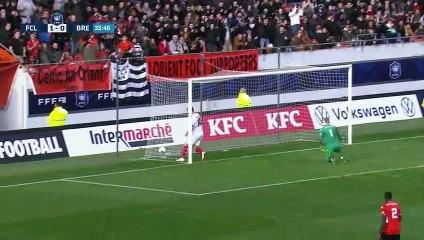 Le résumé de FC Lorient - Brest (2-1) 19-20 (32èmes de finale de CdF)