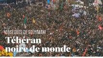 Marée humaine à Téhéran pour les obsèques de Soleimani