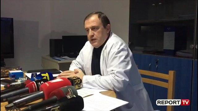 Report TV - Akuzat e PD për anulimin e operacioneve, flet Drejtori i Spitalit të Shkodrës
