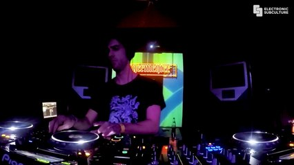 Theo Muller Live Set for Electronic Subculture at Ostra Club in Nancy, France