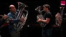 Charles Gounod : Petite Symphonie pour instruments à vent en si bémol majeur, 1er mouvement (No Slide)