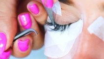 How lash extensions are made