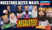 Nuestros Reyes Majes se dieron como regalotes nuestro oro, incienso, mirra Y MUCHO