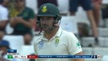 England find breakthrough with Elgar wicket