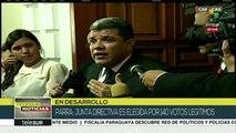 teleSUR Noticias: Venezuela: AN elige nueva junta directiva 2020-2021