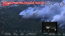 Australia Bushfires Continue To Burn: NSW Rural Fire Service Footages Shows Currowan, Voyagers Point Fires
