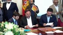 El Parlamento Europeo reconoce a Junqueras y Puigdemont como eurodiputados