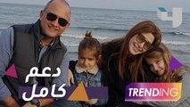 نقل زوج نانسي عجرم إلى المستشفى ودعم كامل من النجوم العرب