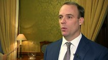 Raab: We need to find 'diplomatic way' through Iran crisis