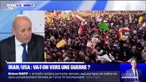 """Iran/USA: selon Jean-Yves Le Drian, """"la situation est très grave: il y a un enchaînement d'escalade qui peut amener à un conflit"""""""