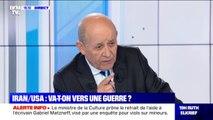 """Iran/USA: selon Jean-Yves Le Drian, """"la position de la France est une volonté d'aboutir à une désescalade"""""""