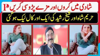 Hareem Shah And Sheikh Rasheed Another Video - Hareem Ahah tik tok New Video