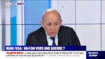 """Jean-Yves Le Drian sur la fuite de Carlos Ghosn: """"Pour l'instant il n'a pas demandé à venir en France"""""""
