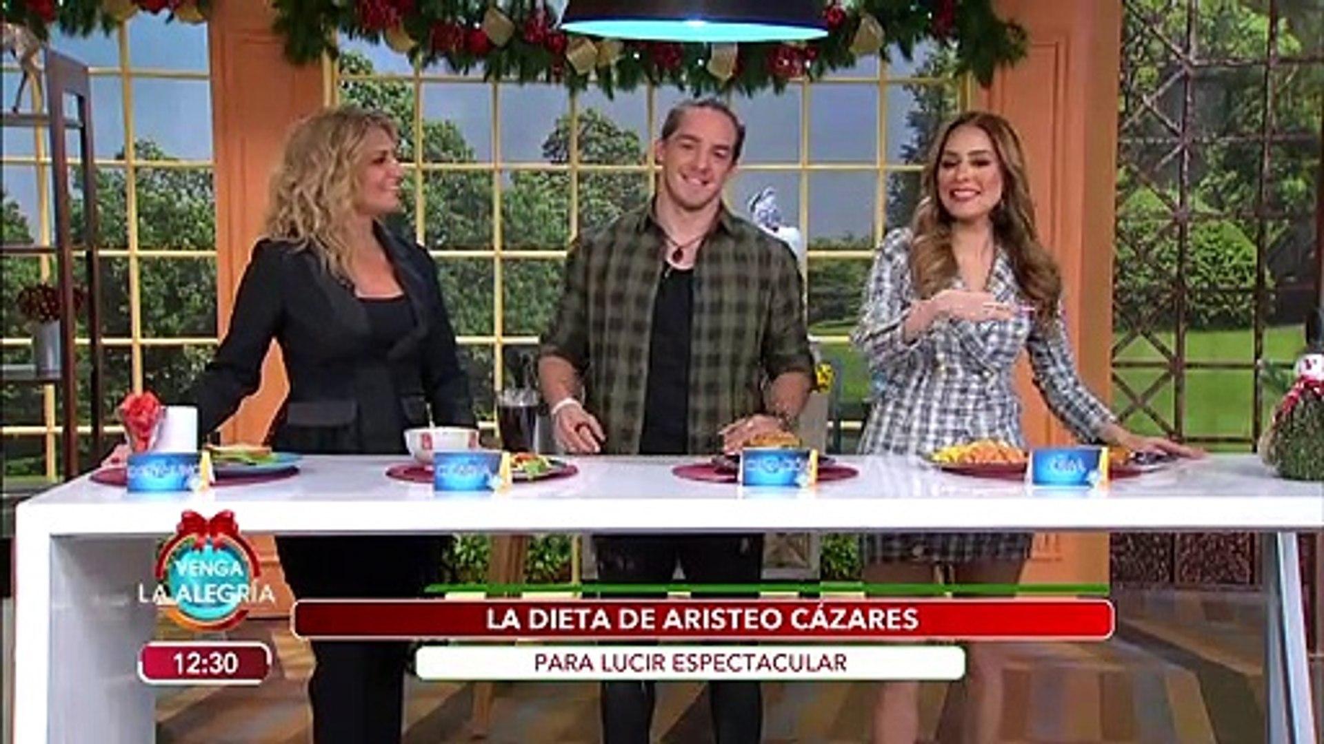 ¡Aristeo Cázares nos revela su dieta con la que mantiene ese cuerpo de concurso! | Venga La Alegría