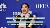 "Awkwafina just made Golden Globes history with her 2020 ""Best Actress"" win"