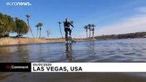 Faire du vélo sur l'eau, c'est possible !